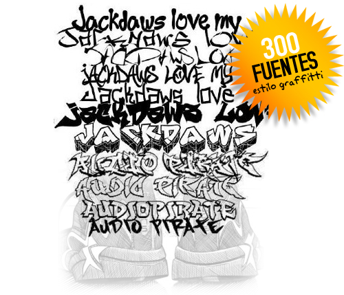 Fuentes Estilo Graffiti Descargas Gratis Tipete